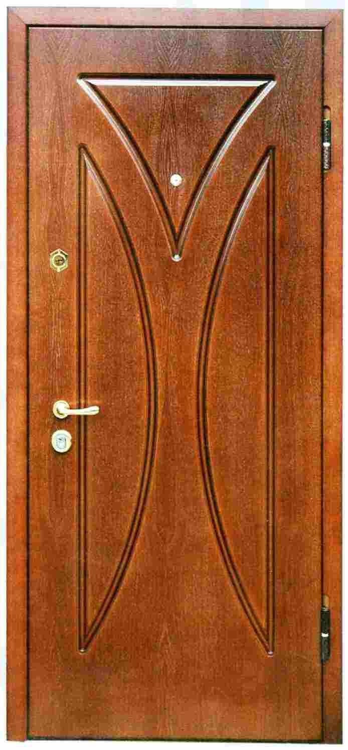 металлические двери с мдф пвх